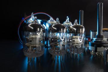 Radio electronic components