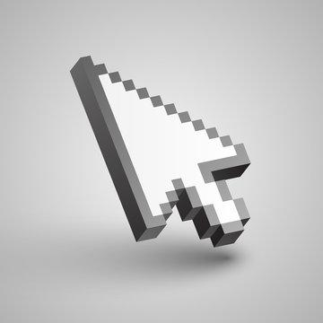 Vector arrow cursor