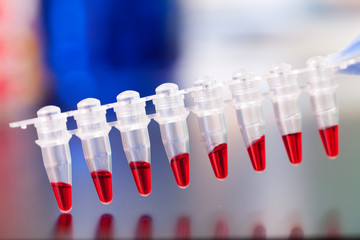 PCR micro tubes strips