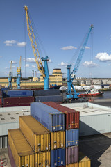 Shipping Containers - Port of Hull - United Kingdom