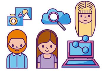 Social Media Icon Set 11