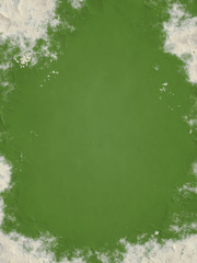 grunge background green colored