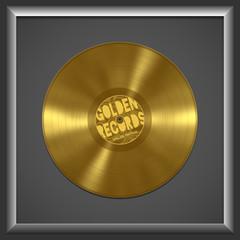 vinyl golden record