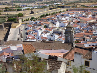 Elvas (Portugal) ciudad historica en el distrito de Portalegre en la región del Alentejo a pocos kilometros de Badajoz (España)