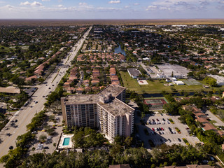 Urban Aerial Photography South Florida.