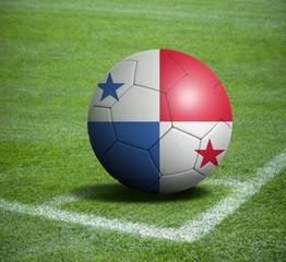 Soccer ball ball with the national flag of PANAMA ball with stadium