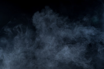 Fototapete - Smoke on black background