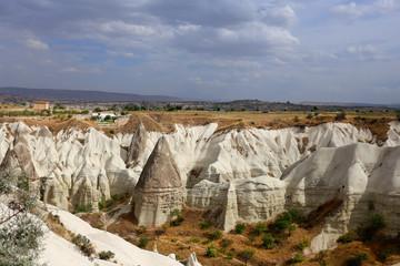 Photo views of the Cappadocia fortress Uchisar