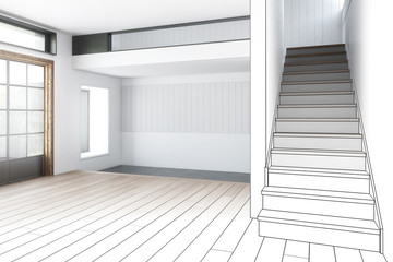 Raumgestaltung beim Hausbau (Planung)