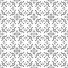 Black and White Seamless Ethnic Pattern. Vintage, Grunge, Abstract Tribal Background for Textile Design, Wallpaper, Surface Textures, Wrapping Paper