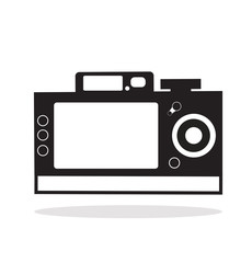 Camera icon back view