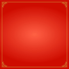 Chinese Traditional Background, The Crown Frame
