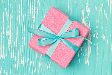 Valentine's Day homemade gift box