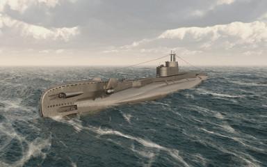Britisches Unterseeboot aus dem Zweiten Weltkrieg