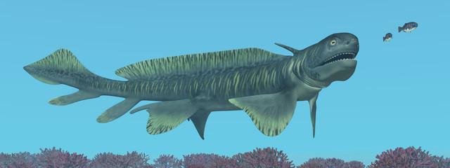 Prähistorischer Hai Orthacanthus