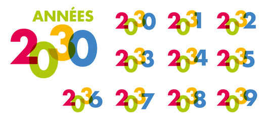 année - objectif - 2030 - 2031 - 2032 - 2033 - 2034 - 2035 - 2036 - 2037 - 2038 - 2039