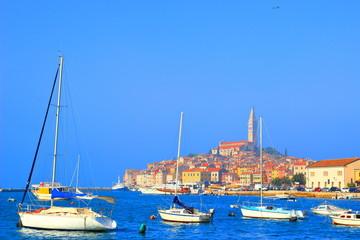Rovinj, touristic destination in Istria, Croatia