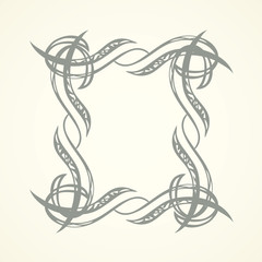 Vignette. Vector drawing