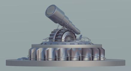Astronomisches Observatorium, Freisteller