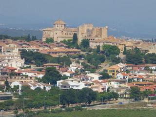 Castillo de Altafulla, localidad costera de Tarragona (Cataluña,España)