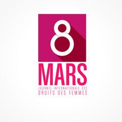 8 mars, fête des femmes