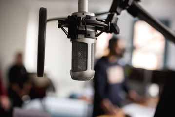 Mikrofon Radio Microphone Broadcast