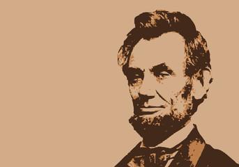 Lincoln - président des États Unis - portrait - personnage historique - personnage célèbre