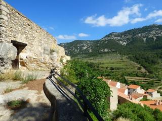 La Pobla de Benifassa, pueblo de Castellon (Comunidad Valenciana,España)