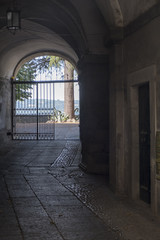 Canvas Prints Old Hospital Beelitz Orvieto, Umbria, Italy: historic street
