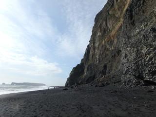 アイスランド、ブラックサンドビーチ