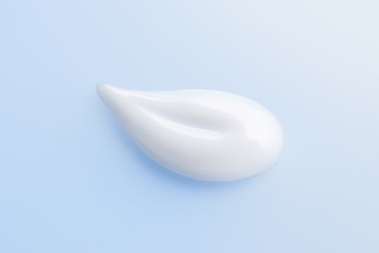 Milky lotion Close-up