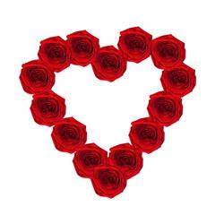 St. Valentine's Day. Roses.