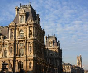 Rue de Rivoli à Paris, France