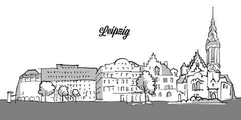 Leipzig Panorama Banner