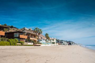 Malibu et ses maisons sur la plage