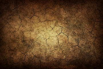 Art Scrapbook Old Background Texture of Grunge in cracks, horizontal banner