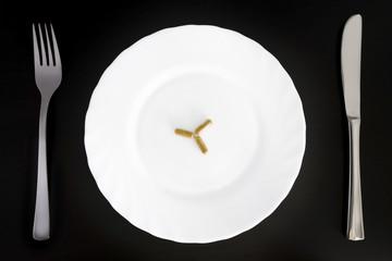 Medicine on a plate