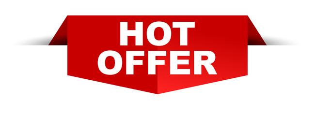 banner hot offer