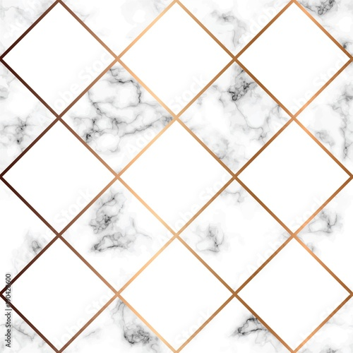 Quot Vector Marble Texture Seamless Pattern Design With White