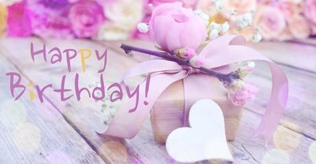 Geburtstag - Geschenk - Happy Birthday
