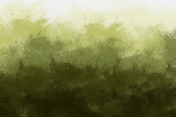Abstract Green Background that Resembles a Landscape with Gradient Colors from Light to Dark