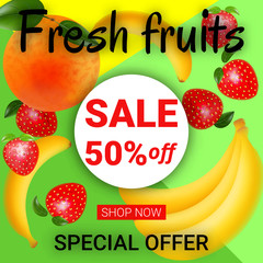 Logo design template for shops and cafes Healthy Eating .