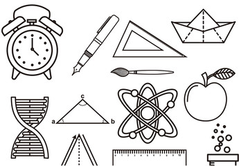 Education Icon Set 3