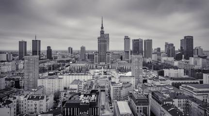 Obraz Warszawa centrum - fototapety do salonu