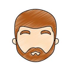 avatar man with beard icon
