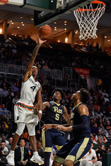 NCAA Basketball: Pittsburgh at Miami