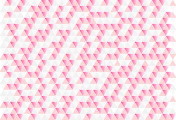 ピンクの幾何学模様