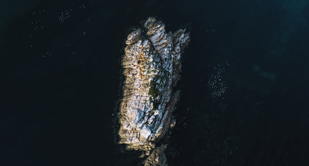 Beautiful aerial view of Rocky Cape, Tasmania