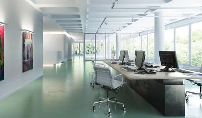 Büroeinrichtung 01 (Plan)