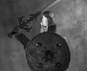 ancient warrior, gladiator, viking